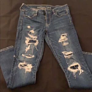 Used American Eagle Outfitters Jeans size 8